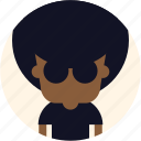 avatar, user, guy, cool, afro, man