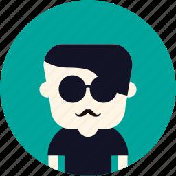 avatar, french, guy, man, user icon
