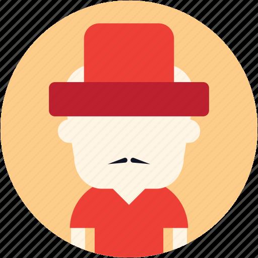 avatar, man, oriental, user icon