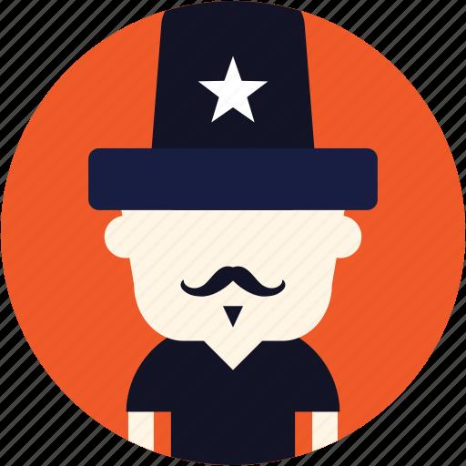 avatar, circus, man, user, wizard icon