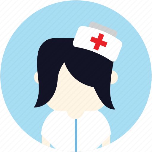 avatar, medical, nurse, user, woman icon