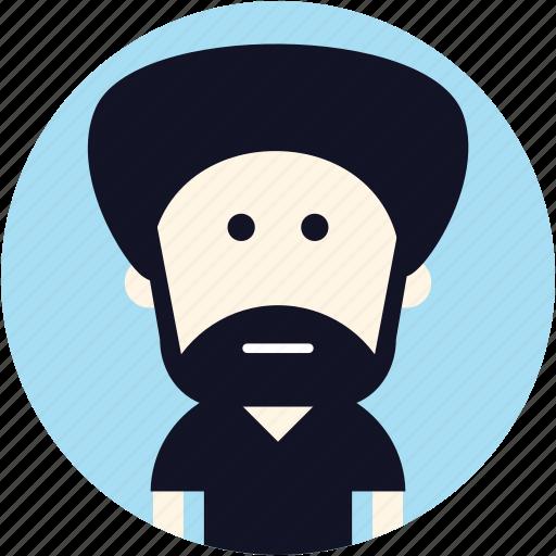 avatar, indian, man, user icon