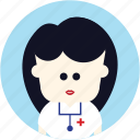 avatar, doctor, medical, nurse, user icon
