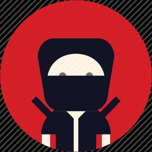 avatar, ninja, user, warrior icon