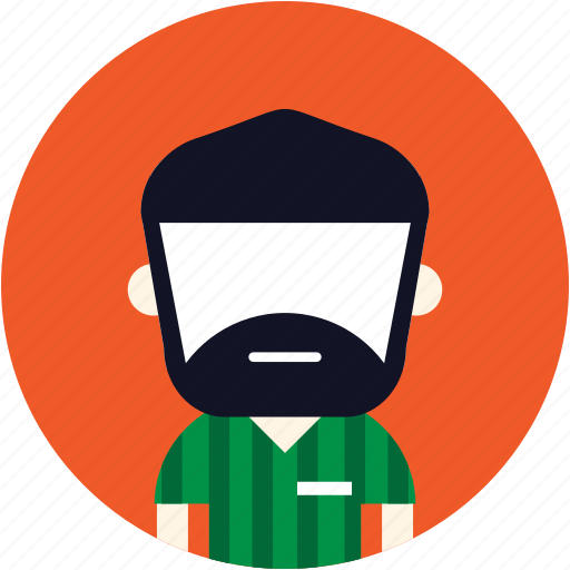 User, man, avatar, beard icon