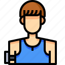 avatar, male, man, people, person, sportman, user