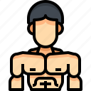 avatar, bodybuilding, male, man, people, person, user
