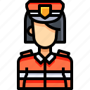 avatar, female, guard, people, person, user, woman