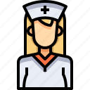 avatar, female, nurse, people, person, user, woman icon