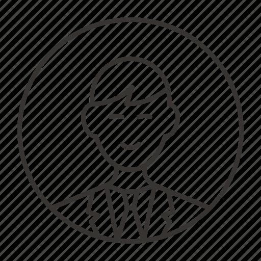 avatar, boy, jacket, male, man, person icon
