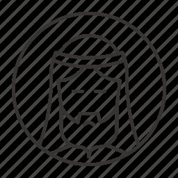avatar, christ, christian, jesus, religion, user icon