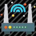 modem, router, wifi, internet icon