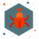 bug, fixing, repair, insect, virus icon