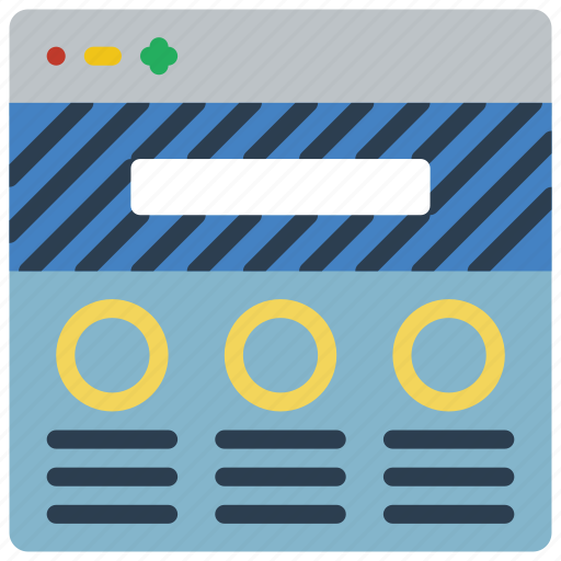experience, search, user, ux, website, window icon