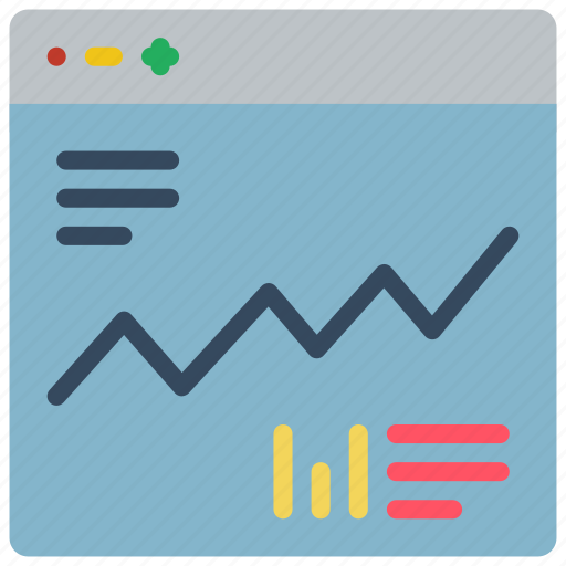 chart, experience, graph, user, ux, window icon