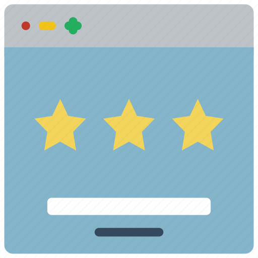 experience, rating, user, ux, website, window icon