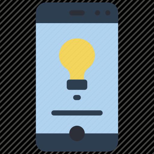 experience, idea, phone, user, ux, window icon