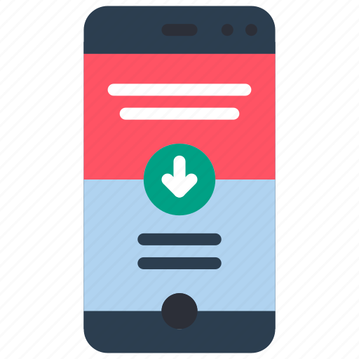 experience, phone, scroll, user, ux, website, window icon