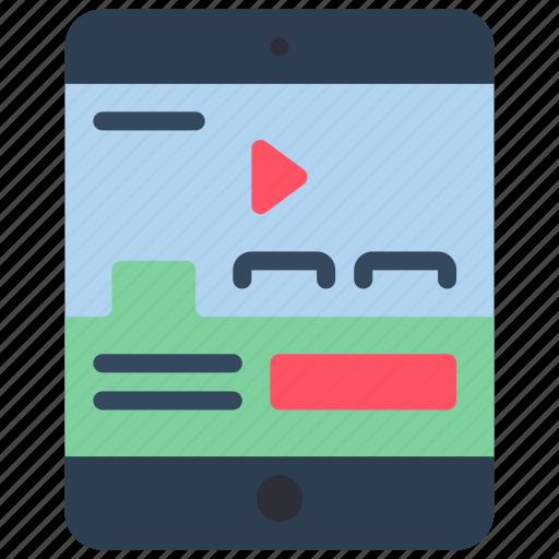 experience, ipad, tabs, user, ux, website, window icon