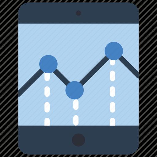chart, experience, graph, ipad, user, ux, window icon
