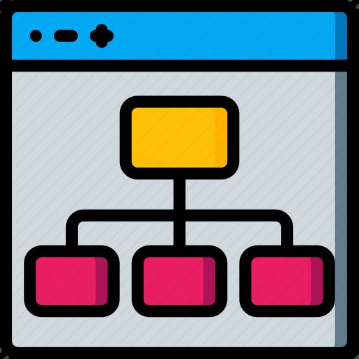 experience, flow, user, ux, website, window icon