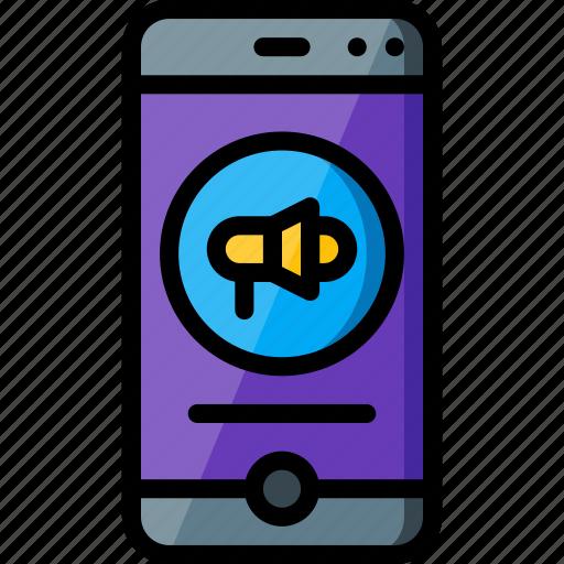 alert, experience, phone, user, ux, window icon