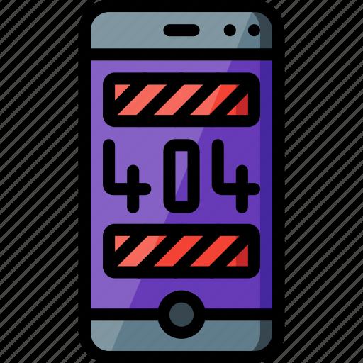 error, experience, phone, user, ux, warning, window icon