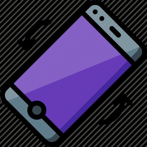 experience, flip, phone, tilt, user, ux, window icon