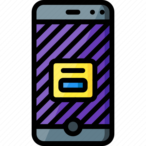 alert, experience, phone, user, ux, warning, window icon
