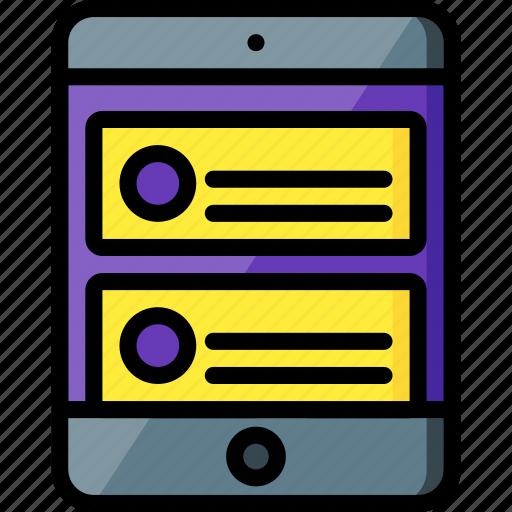 blog, experience, ipad, user, ux, website, window icon