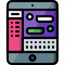 comunication, experience, ipad, messages, user, ux, window icon