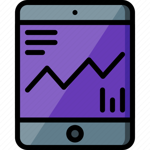 experience, graph, ipad, user, ux, website, window icon