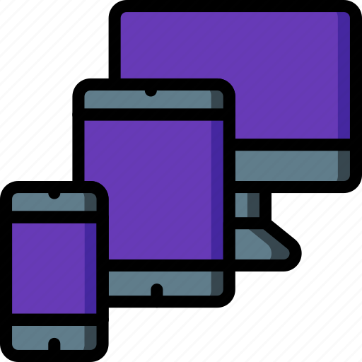 devices, experience, ipad, iphone, user, ux icon