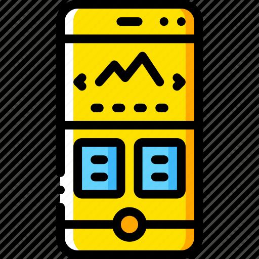 experience, phone, slideshow, user, ux, window icon
