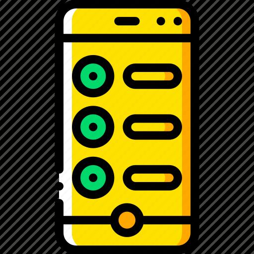 checklist, experience, phone, user, ux, window icon