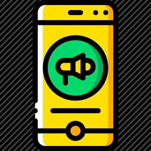 alert, experience, phone, user, ux, website, window icon