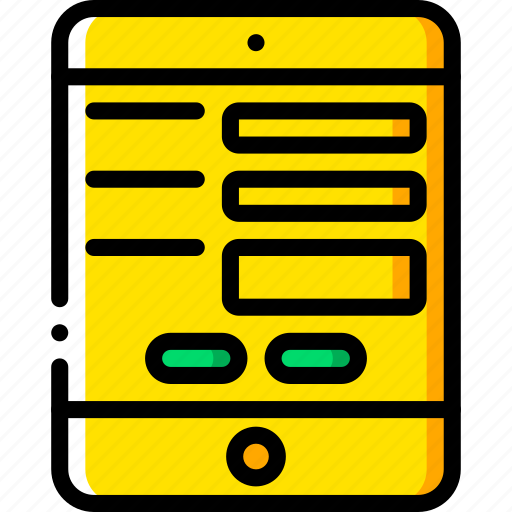 experience, ipad, layout, user, ux, website, window icon