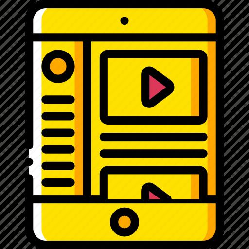 experience, ipad, menu, side, user, ux, window icon