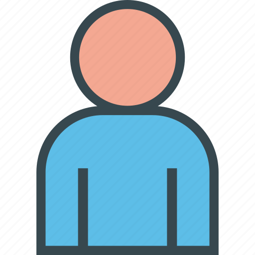 account, avatar, client, man, user icon