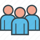group, human, meeting, people, team, users icon