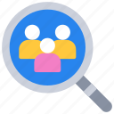 experience, research, search, user, ux icon