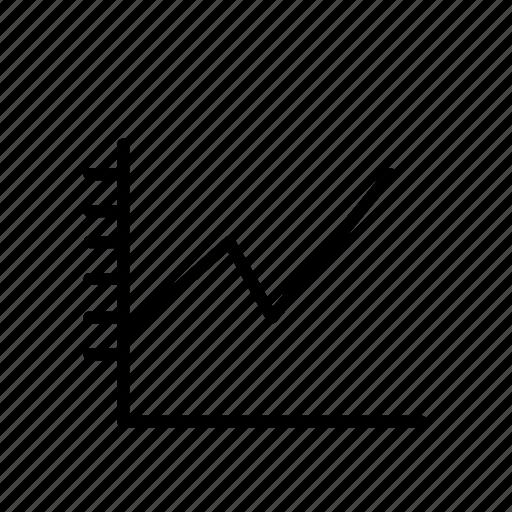 diagram, graph icon