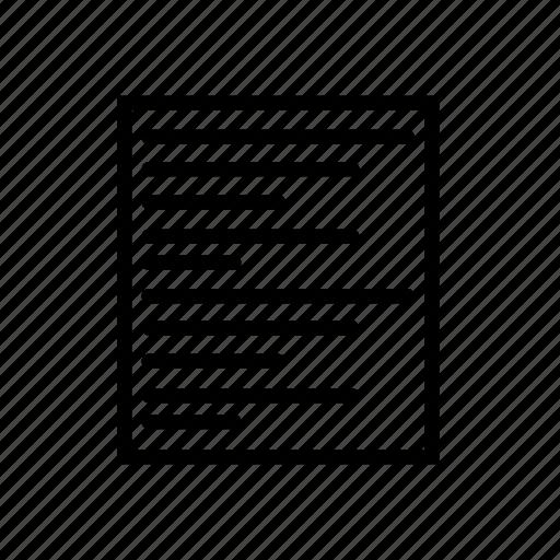list, organising icon