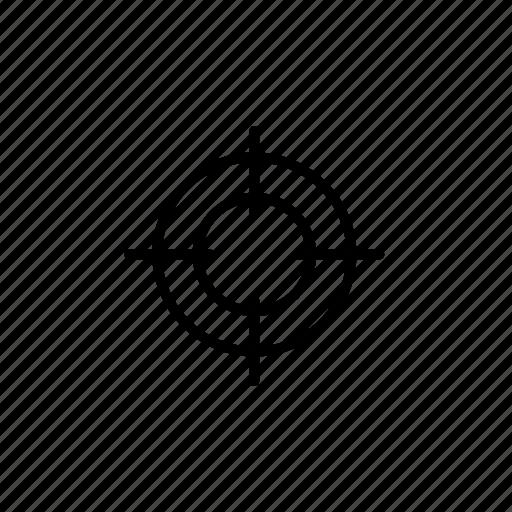target, targeting icon