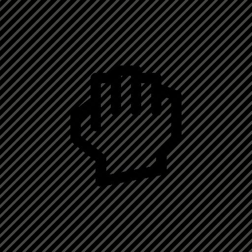 fist, gesture, pix icon