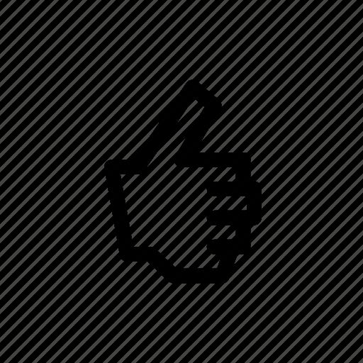 gesture, like, pix icon