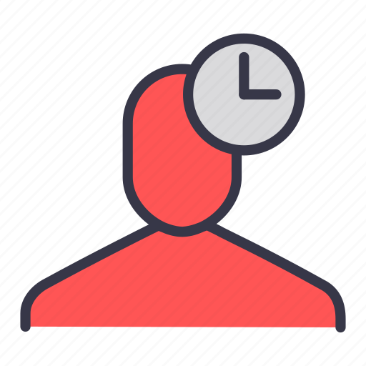 businessman, hourglass, management, time, timer, user icon