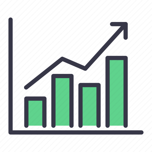 analysis, business, chart, graph, growth, report, statistic icon