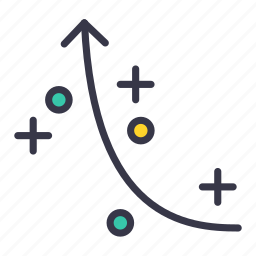 business, plan, plot, strategy, tactics icon