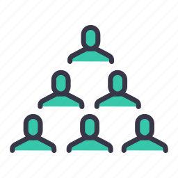 businessmen, community, group, hierarchy, level, team, users icon